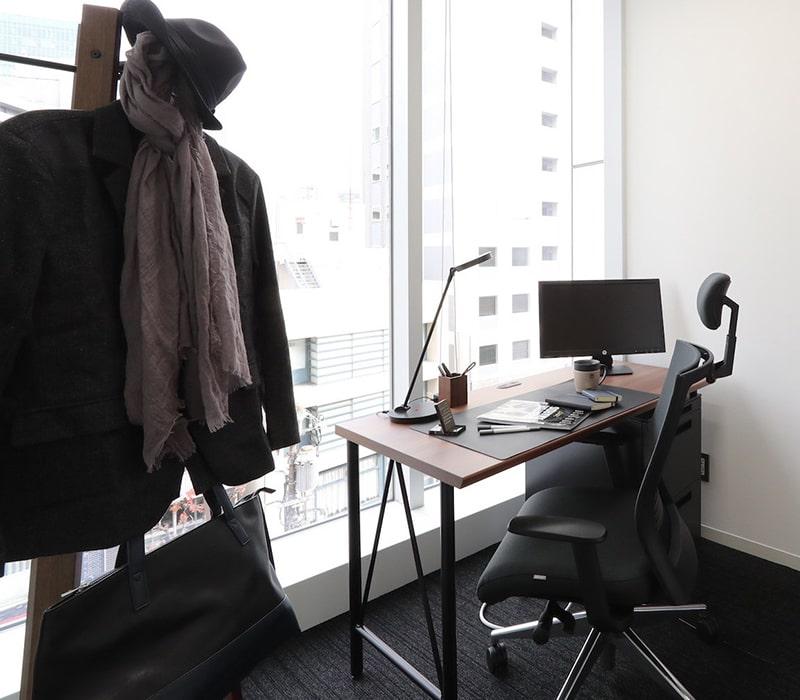 1名〜複数名で利用できるオフィス:ビジネスエアポート青山