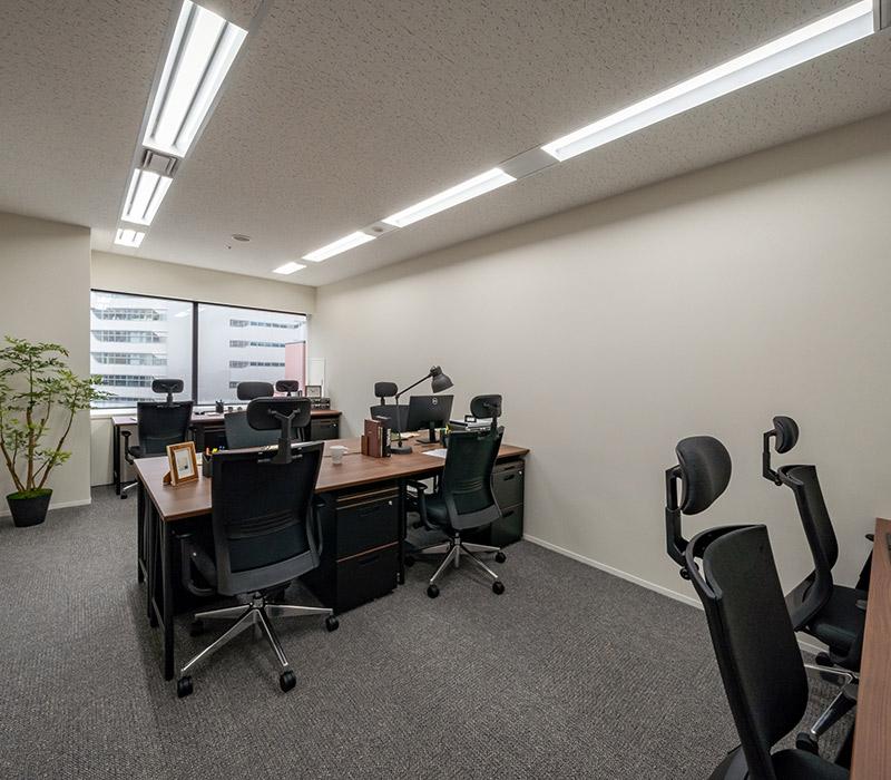 1名〜複数名で利用できるオフィス:ビジネスエアポート日比谷