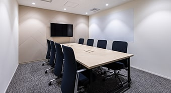 会議室2A(8名用):ビジネスエアポート京橋