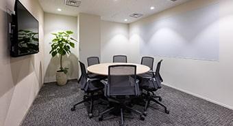 会議室2B(6名用):ビジネスエアポート京橋
