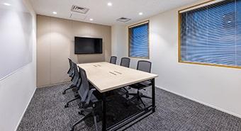 会議室2C(6名用):ビジネスエアポート京橋