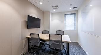 会議室3A(4名用):ビジネスエアポート京橋