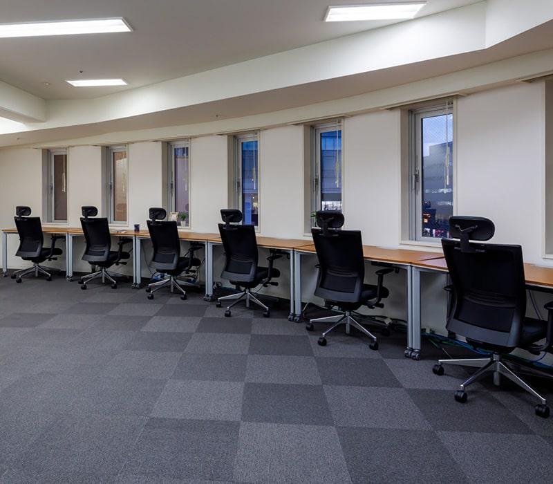1名〜複数名で利用できるオフィス:ビジネスエアポート目黒