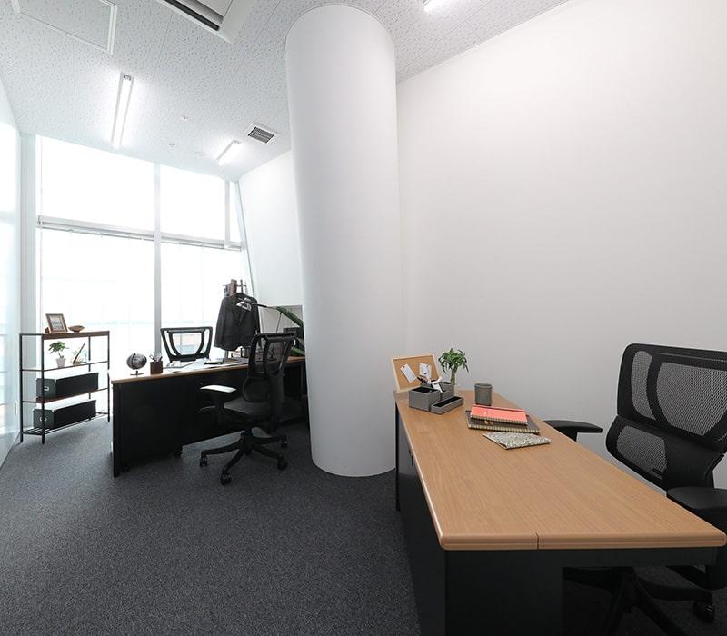 1名〜複数名で利用できるオフィス:ビジネスエアポート六本木