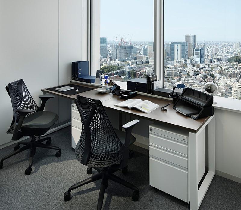 1名〜複数名で利用できるオフィス