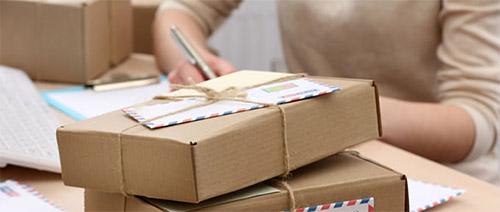 郵便物の受取・発送代行